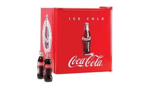 Coca Cola Mini Fridge 1 7 Cu Ft Nostalgia Electricsbuy