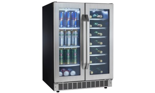 Danby Undercounter Beverage Center With Dual Zone 5 3 Cu